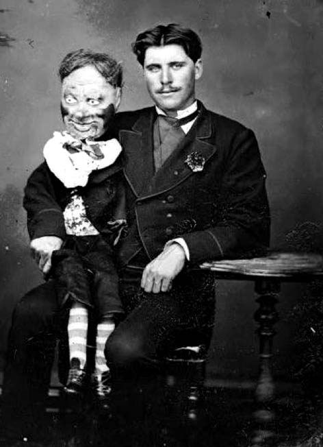 Scary Ventriloquist Act