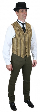 005249 Bailey Vest - Brown