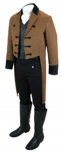 Sovereign Regency Tailcoat - Brown