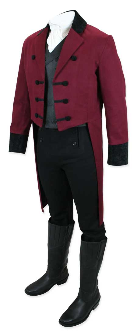 Reign Supreme in our Sovereign Tailcoat