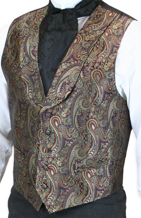 Emporium Exclusive – Silk Paisley Vests