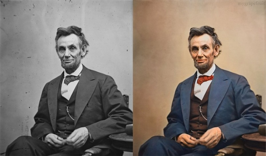 Adding Color to Vintage Photographs