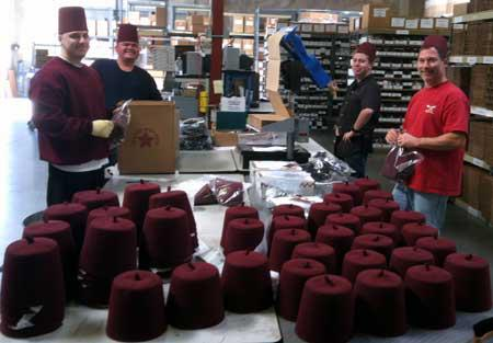 The Fez Have Arrived