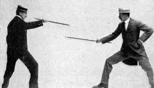 bartitsu-sparring