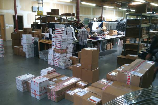 Halloween Rush in the Warehouse