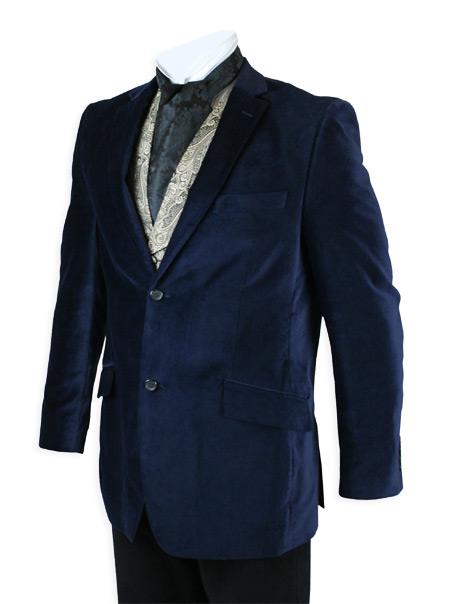 By Popular Demand! Midnight Blue Smoking Jacket