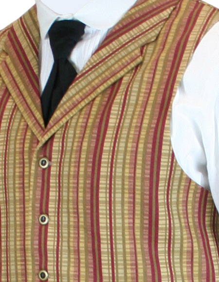 Striped Bailey Vests In Stock.
