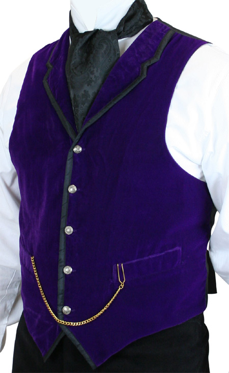 Smooth!  Elegant Velvet Vests in Four Colors