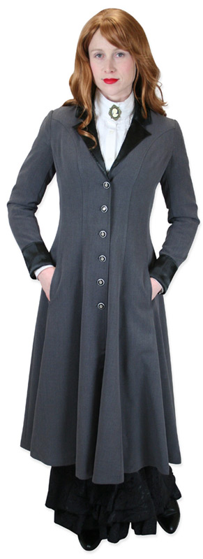 Shapely Silhouette – Veronica Frock Coat