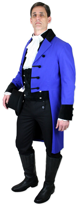 Regency Style Tailcoats in New Colors!