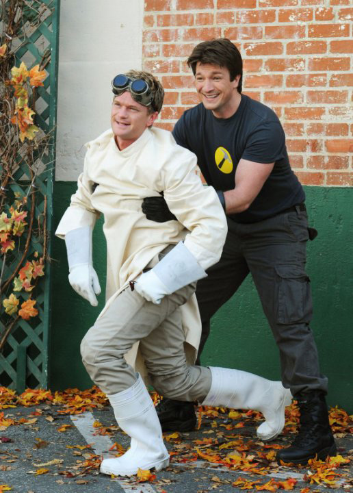 nph is best known at least in our office as dr horrible a mad scientist unsatisfied with the status quo of the world and intent on joining the evil - Dr Horrible Halloween Costume