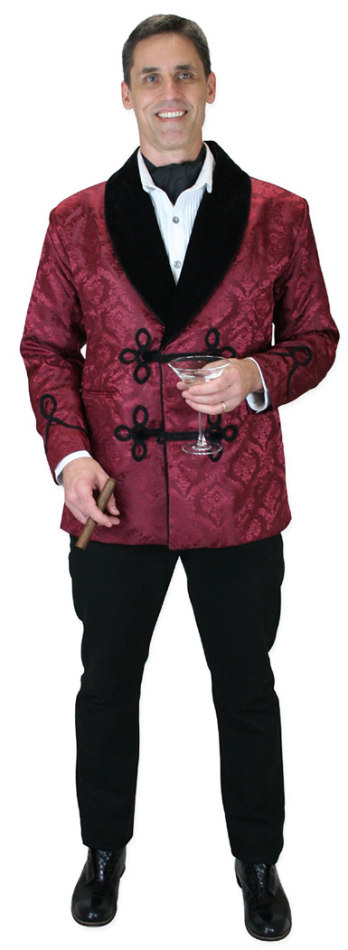 New Brocade Smoking Jackets