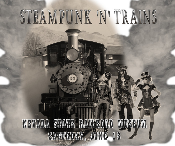 Steampunk 'n' Trains