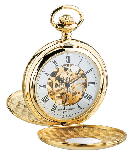 Victorian Old West Pocket Watches Gold Alloy Mechanical |Antique Vintage Fashioned Wedding Theatrical Reenacting Costume |