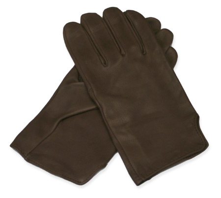 Victorian Old West Mens Accessories Brown Leather Solid Gloves |Antique Vintage Fashioned Wedding Theatrical Reenacting Costume | Adventurer Motorist Gifts for Him