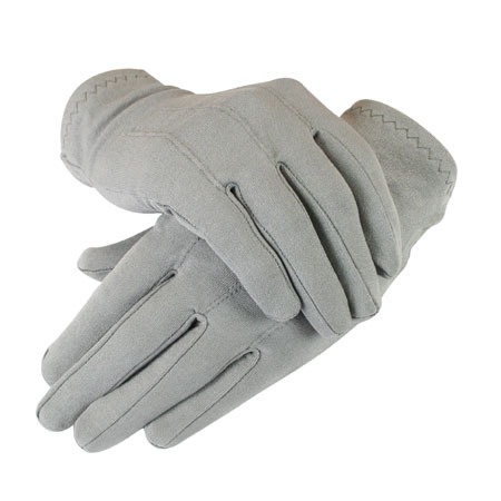 Mens Formal Dress Gloves Gray