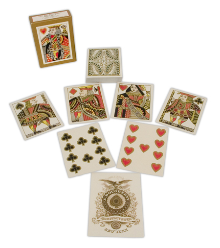 Wedding Mens Paper Playing Card | Formal | Bridal | Prom | Tuxedo || Illuminated Civil War Poker Deck