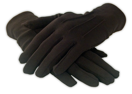 Mens Formal Dress Gloves Black
