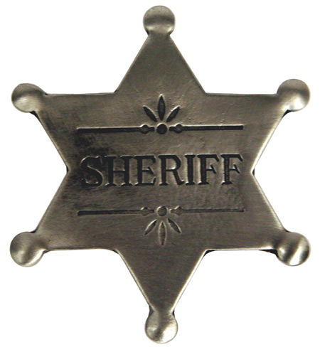 Old West Badge 120