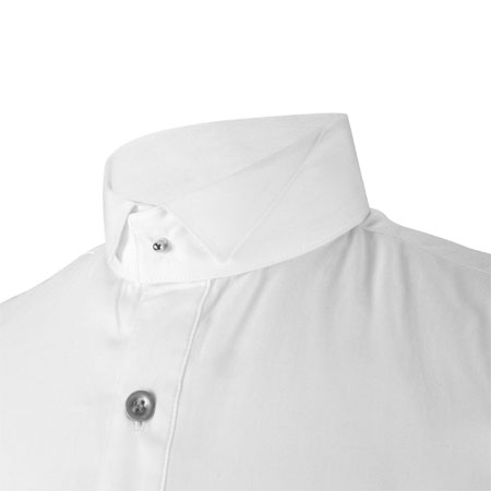 83cf6ef5a9 ... click to view. Steampunk Mens White Cotton Solid Detachable Collar ...