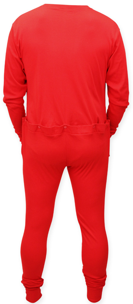 Long Underwear With Flap Breeze Clothing