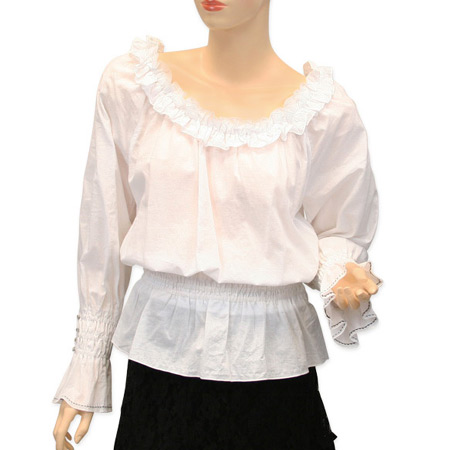 Blouse Peasant White 31
