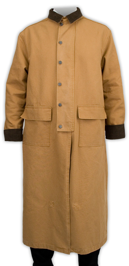 Canvas Duster - Brown