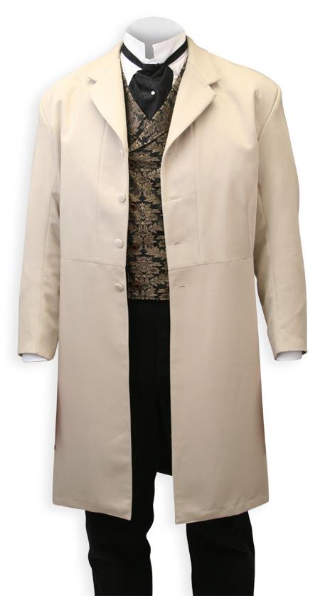Callahan Frock Coat Khaki