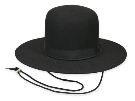 21d9d766312 1800s Mens Black Wool Felt Wide Brim Hat | 19th Century | Historical |  Period Clothing