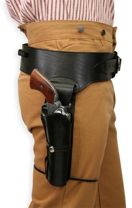 (.44/.45 cal) Western Gun Belt and Holster