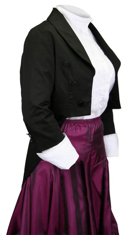 Ladies Burlesque Tailcoat