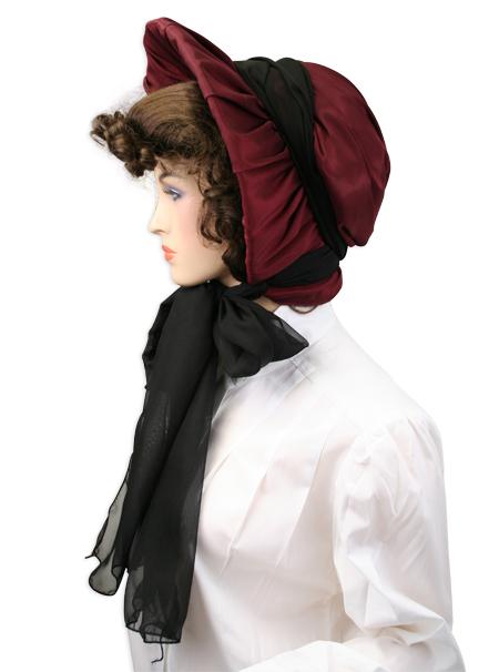 Satin Victorian Bonnet