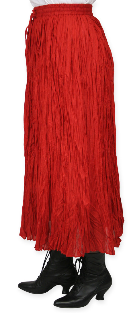 Need beautiful Red broomstick skirt shits about
