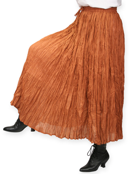 fb611727aa Hestia Broomstick Skirt - Copper