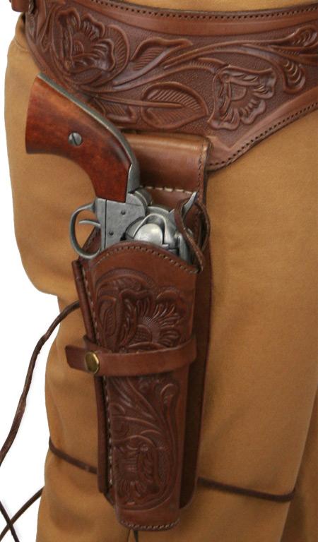 44   45 Cal  Western Gun Belt And Holster