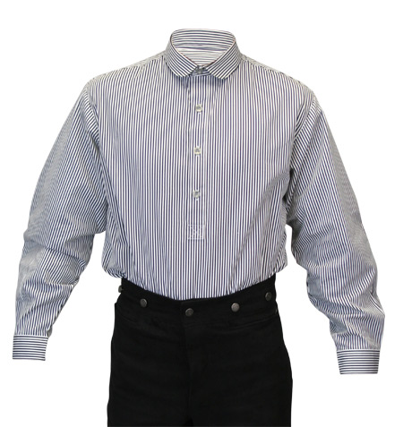 Coulter shirt black and white pinstripe for White shirt with black