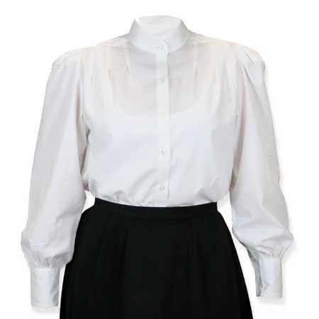 Ladies Classic White Blouse