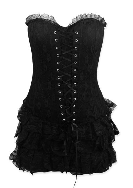 c2f1320aba Vintage Ladies Black Cotton Blend Floral