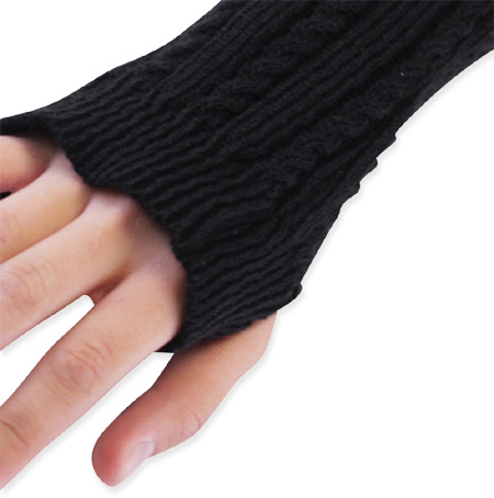 hand warmer knitting pattern | Knitnook