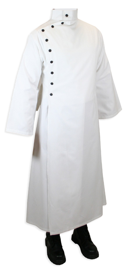 Mad Scientist Howie Lab Coat - White