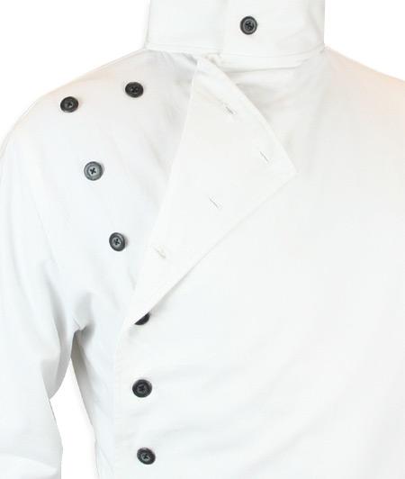 Mad Scientist Howie Lab Coat - White