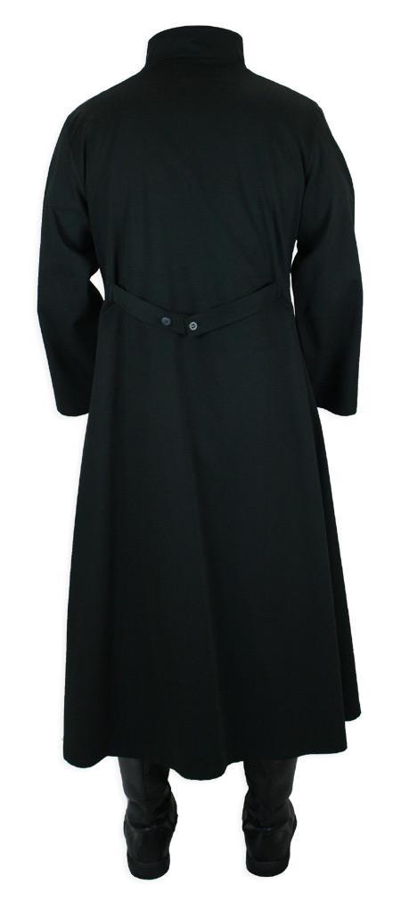 Mad Scientist Howie Lab Coat Black