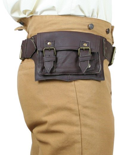 rover utility belt chocolate brown leather