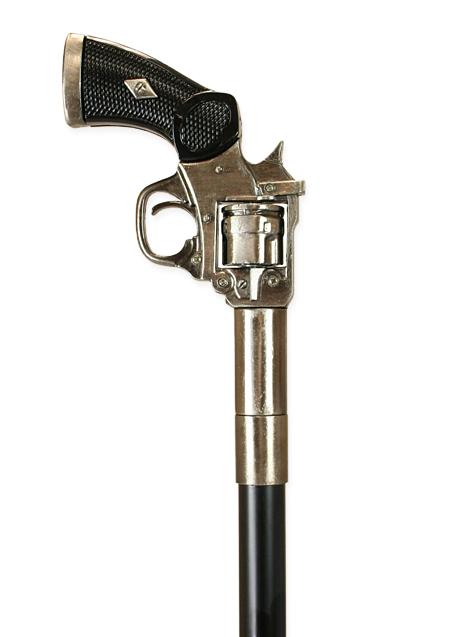Pistol Handle Walking Stick Diamond