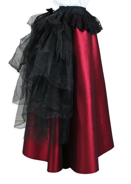 Tulle Bustle Skirt Black