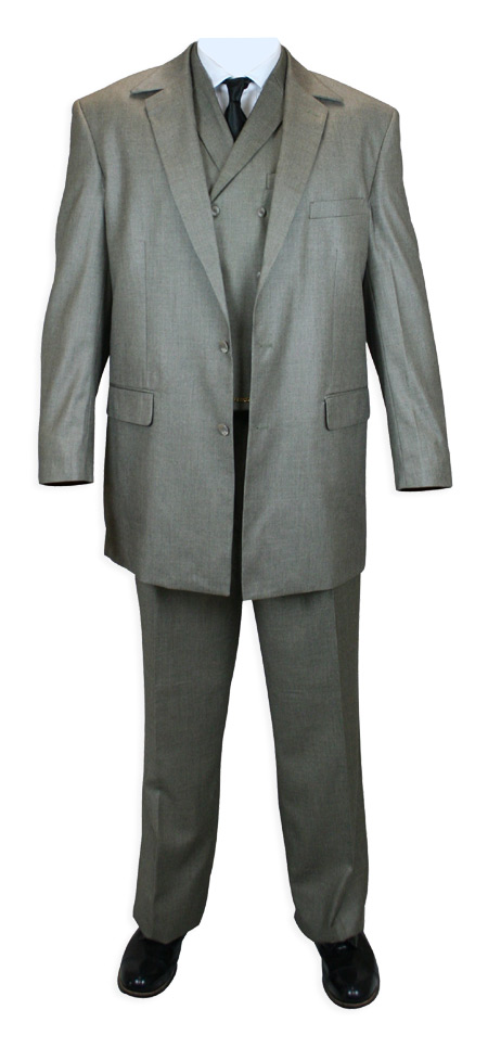 This is a 3-piece set, with suitcoat, vest and pants.