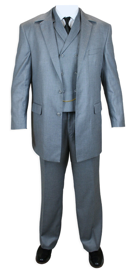 Hancock 3 piece suit - Gray