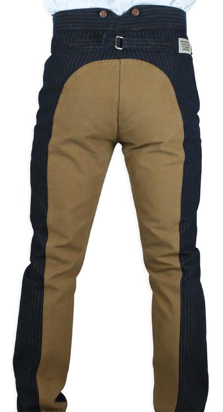 Olson Saddle Pants Denim Tan