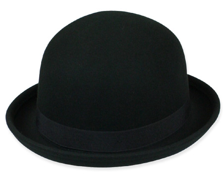 aa0f4568 #1 Rated Bowler Hat Crushable Bowler - Black