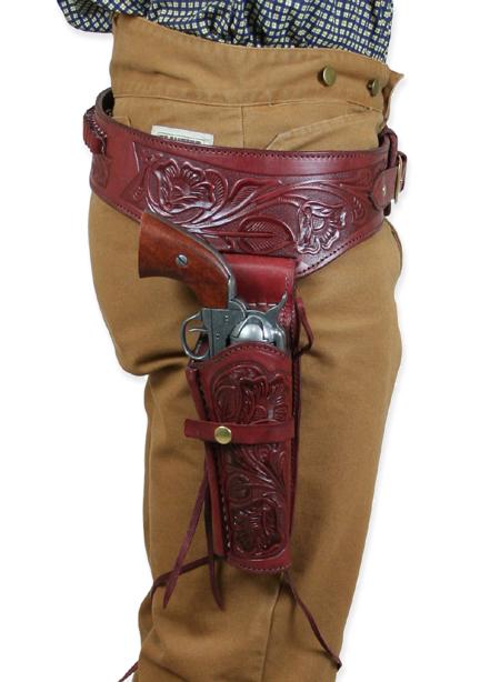 Auburn Western Gun Belt amp Holster 4445 RH